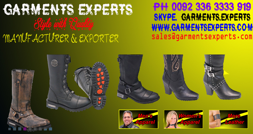LEATHER GARMENTS , GARMENTS EXPERTS COM , LEATHER BOOTS , MOTORBIKE LEATHER SHOES , BIKER SHOES , BIKER BOOTS, BOOTS , LADIES AND GENTS BIKER BOOTS , BIKER SHOES , LEATHER SHOES , BIKER BOOTS